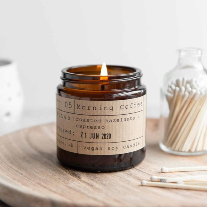 Morning Coffee Soy Wax Candle - 20h - Life Before Plastik