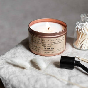 Morning Coffee Soy Wax Candle - 35h - Life Before Plastik
