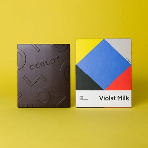 Ocelot Violet Milk - Dark Milk Chocolate - Life Before Plastik