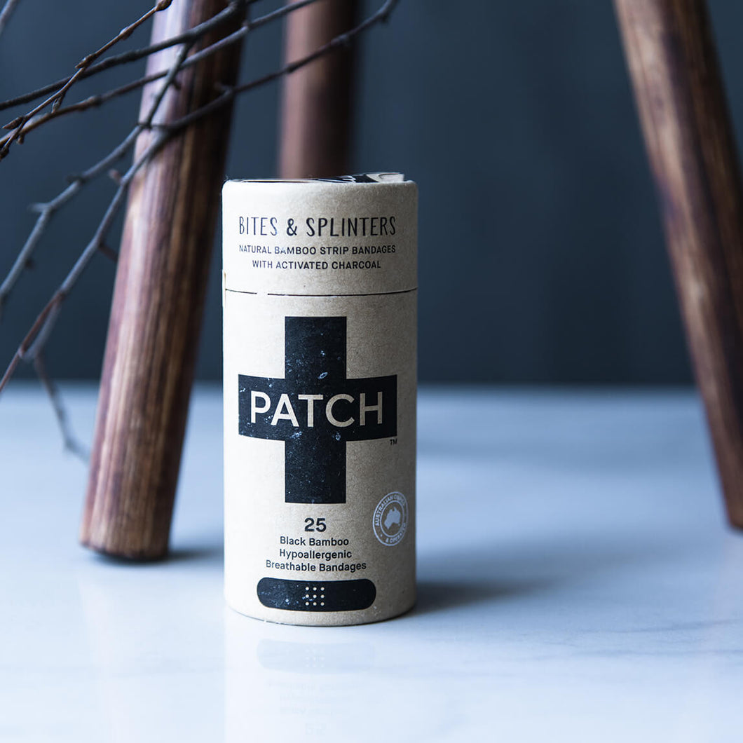 Patch Plasters - Activated Charcoal - Life Before Plastik