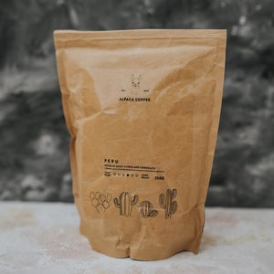 Peruvian Coffee Beans - Alpaca Coffee - Life Before Plastik