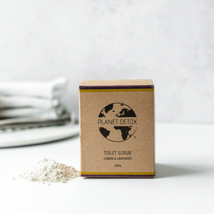Planet Detox Toilet Cleaning Powder - Lemon & Lavender - Life Before Plastik
