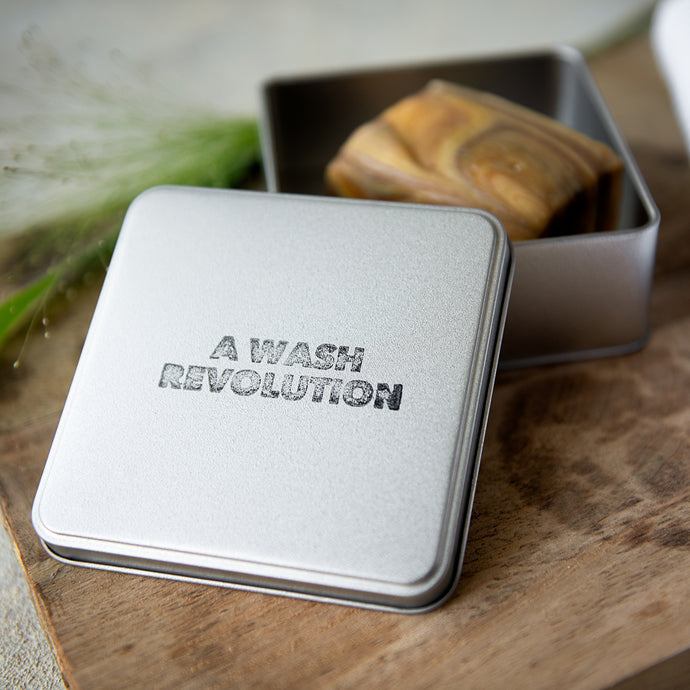 Soap & Shampoo Bar Travel Tin