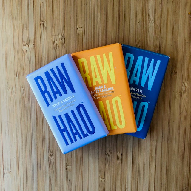 Vegan Chocolate Mini Set - Raw Halo - Life Before Plastik