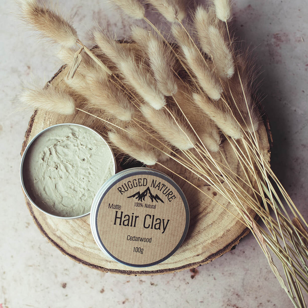 Hair Clay - Cedarwood | Rugged Nature | Life Before Plastik