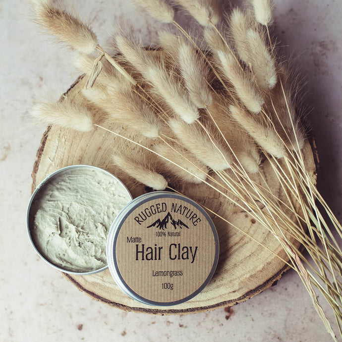 Hair Clay - Lemongrass - Rugged Nature - Life Before Plastik