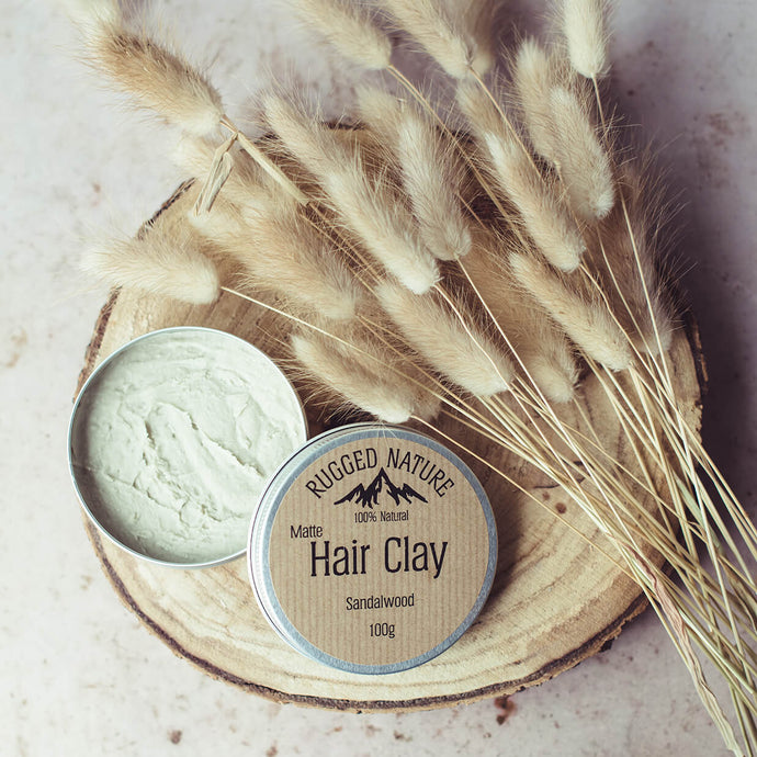 Hair Clay - Sandalwood | Rugged Nature | Life Before Plastik