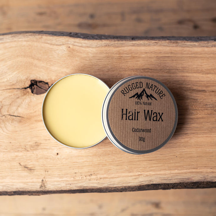 Hair Wax - Cedarwood | Rugged Nature | Life Before Plastik