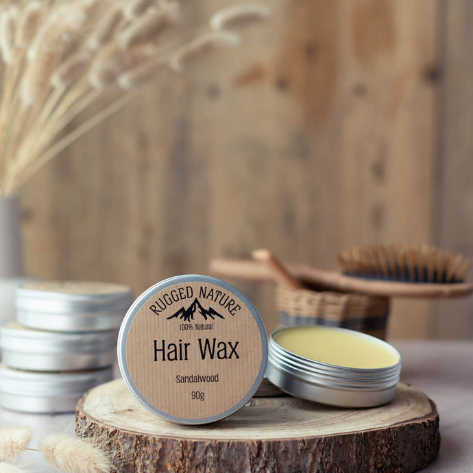 Hair Wax - Sandalwood | Rugged Nature | Life Before Plastik