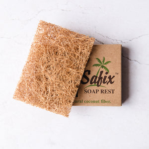 Coconut Fibre Soap Rest - Life Before Plastik
