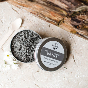 The Salt Parlour Black Clay & Vanilla - Life Before Plastik