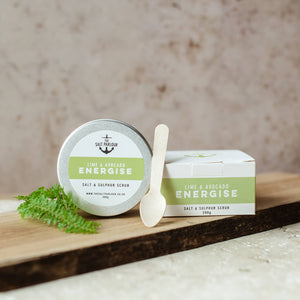 The Salt Parlour - Lime & Avocado Scrub - Life Before Plastik
