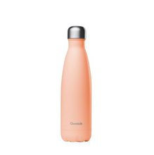 Load image into Gallery viewer, Qwetch Stainless Steel Water Bottle (500ml) - Pastel Peach