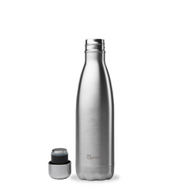 Load image into Gallery viewer, Stainless Steel Water Bottle (500ml) - Chrome - Life Before Plastik