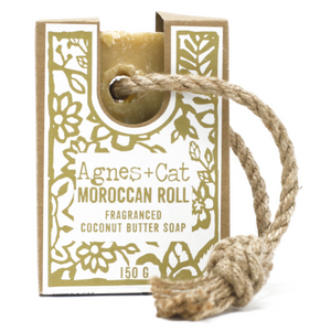 Soap On A Rope - Moroccan Roll - Life Before Plastik