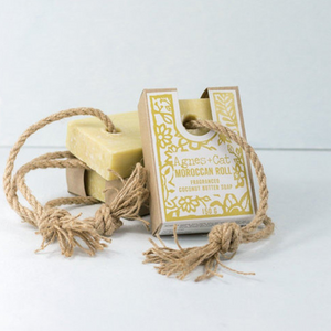 Agnes + Cat Soap On A Rope - Moroccan Roll 150g