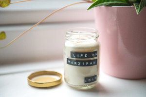 Life on Marzipan Soy Wax Candle - 25h - Life Before Plastik