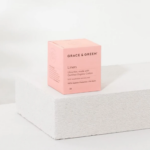 Grace & Green: Liners - Organic Cotton Period Products