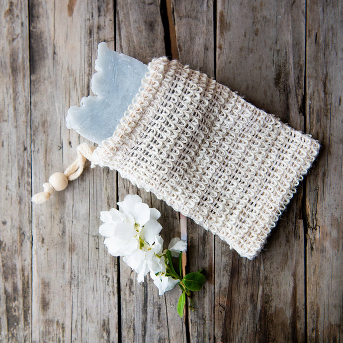 Sisal Soap Bar Pouch