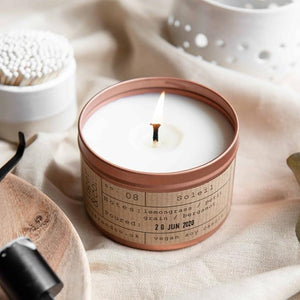 Soleil Soy Wax Candle - 35h - Life Before Plastik
