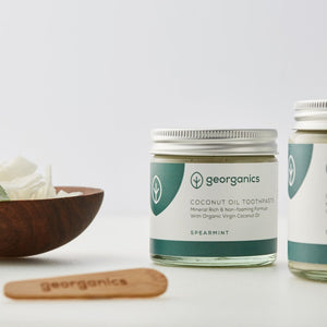 Spearmint Natural Toothpaste (120ml) - Life Before Plastik
