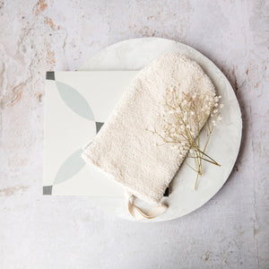 Organic Cotton Bath & Shower Mitt - Life Before Plastik