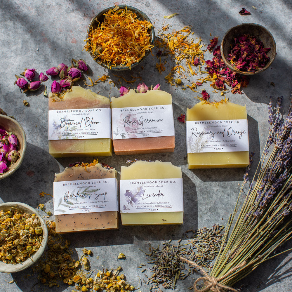 Bramblewood Soap Co The Botanical Soap Collection - Life Before Plastik