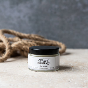 The Natural Deo Clean Deodorant Balm for Men