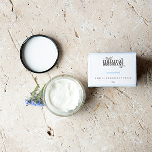 Gentle Deodorant Balm Unscented (No Baking Soda)