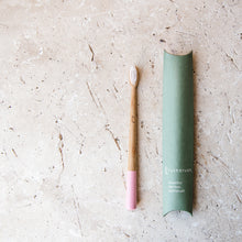 Load image into Gallery viewer, Bamboo Toothbrush (Petal Pink) - Life Before Plastik