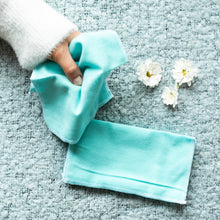 Load image into Gallery viewer, Vesta Living Reusable Cloth Wipes (Teal) - 6 Pack - Life Before Plastik