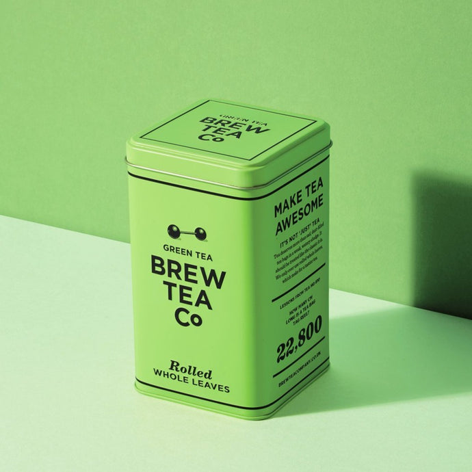 Brew Tea Co Yunnan Green Tea Loose Leaf Tin - Life Before Plastik