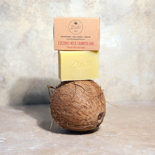 Zero Waste Path Coconut Milk Shampoo Bar Plastic Free