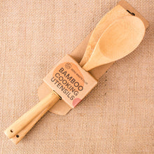 Load image into Gallery viewer, Zero Waste Club Bamboo Cooking Utensils - Life Before Plastik