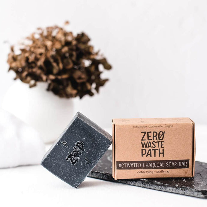 Activated Charcoal Soap Bar - Life Before Plastik