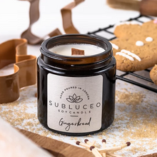 Load image into Gallery viewer, Subluceo Gingerbread Soy Wax Candle - 20h - Life Before Plastik