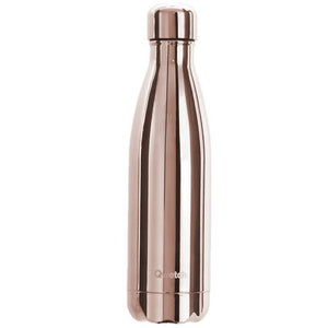 Qwetch Stainless Steel Water Bottle Rose Gold - Life Before Plastik
