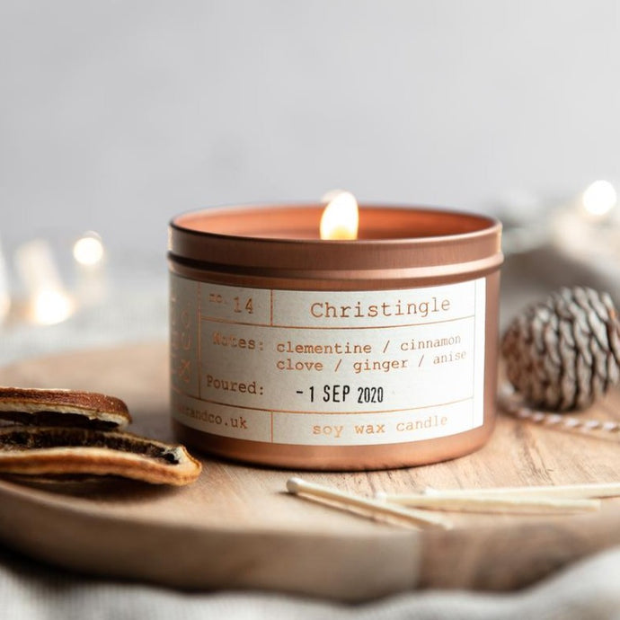 Tiger & Co Limited Edition: Christingle Soy Wax Candle - 35h - Life Before Plastik