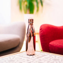 Load image into Gallery viewer, Qwetch Stainless Steel Water Bottle Rose Gold - Life Before Plastik