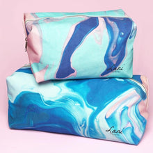 Load image into Gallery viewer, Organic Cotton Wash Bag - Small - Life Before Plastik