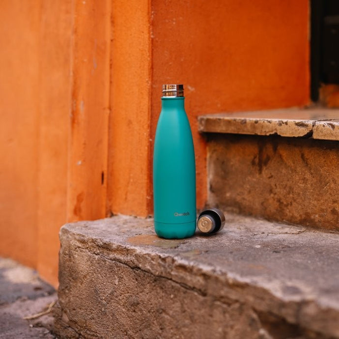 Stainless Steel Water Bottle (500ml) - Pop Teal