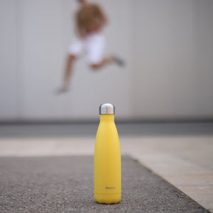 Stainless Steel Water Bottle (500ml) - Pop Yellow - Life Before Plastik