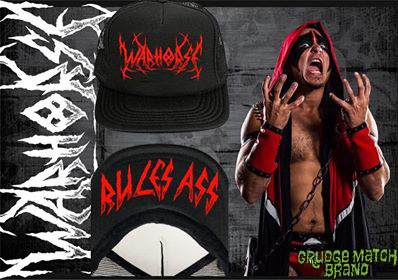 WARHORSE RULES ASS Flip-Up Hat (2nd run PRE-SALE)