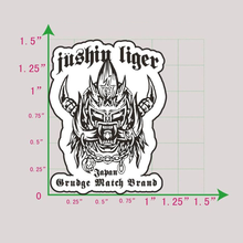 "Load image into Gallery viewer, ""Love Me Like A Liger"" Enamel Pin"