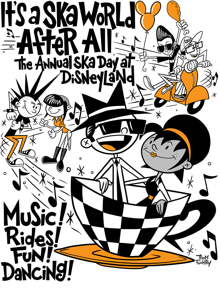 It's A Ska World After All Poster
