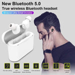 TWS Binaural Bluetooth Headset 5.0 Wireless Mini Bluetooth Headset