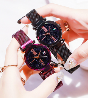 70% OFF!!!  Anniversary Sale  2019 New Magnetic Strap Starry Sky Watch