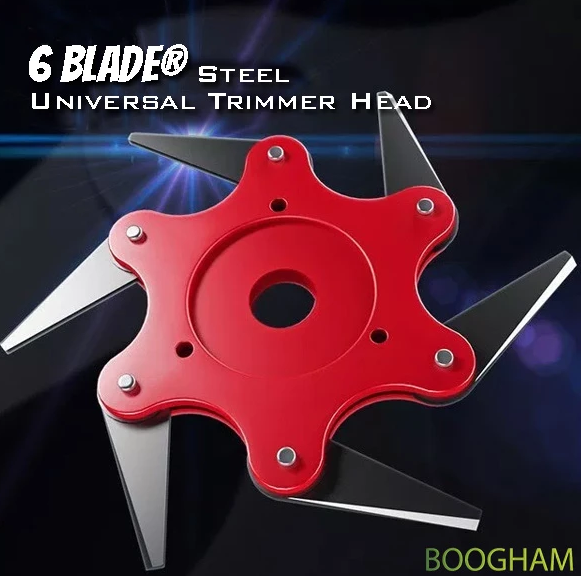 6 Steel Razors Trimmer Head(CLEAR STOCK NOW)