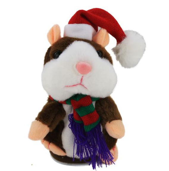 MAGGY THE TALKING HAMSTER PLUSH TOY (LIMITED QUANTITY AVAILABLE)
