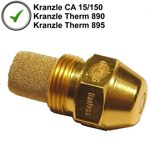 Genuine Kranzle Burner Nozzle To Fit  C 15/150, Therm 890 & Therm 895